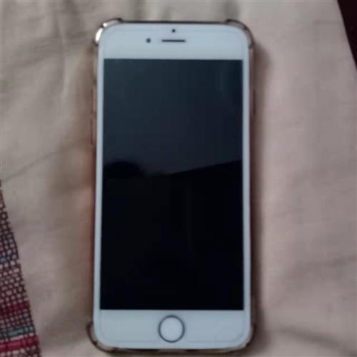 苹果土豪金6s,64g,可退账号,送手机套,卡针,可小刀