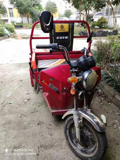 因家中电瓶车有点多,这个三轮车用不上了,现1500元转让,有意向者可联系:阮先生 183386654...