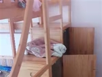 纯实木高低床,质量好,**,买大了,想出手,