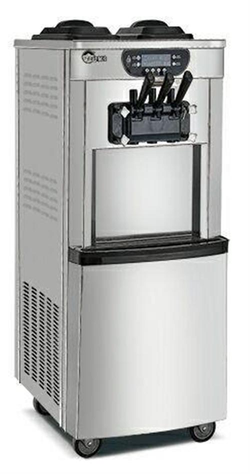君鹏品牌三色口味软冰淇淋机99新只试用了一周,因经营转行空置一年